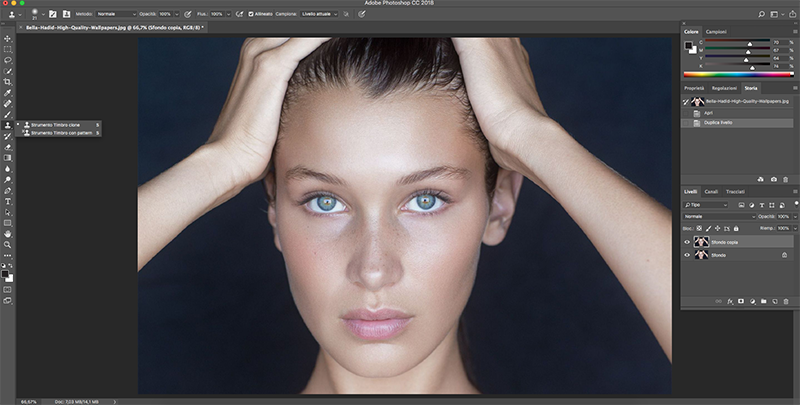 Come fare un makeUp con photoshop