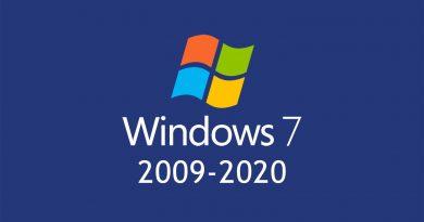 fine del windows 7