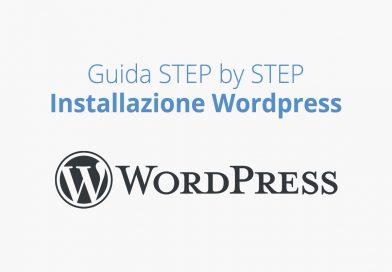 Guida istallazione wordpress