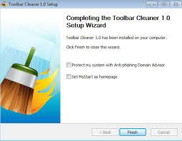 Rimuovere le toolbar da qualsiasi browser